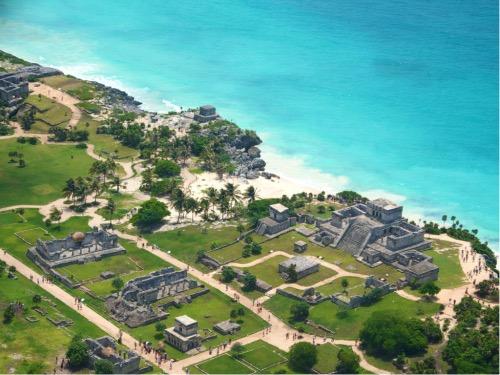 Restos arqueológicos de Tulum