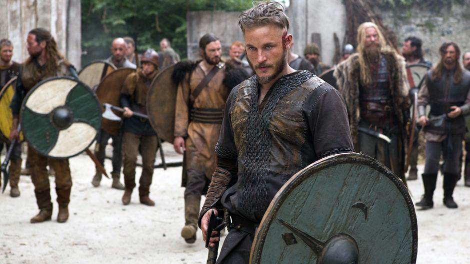 Ragnar Lothbrok de la serie de televisión Vikings