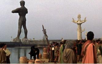 Fotograma de la película El Coloso de Rodas(1961) de Sergio Leone