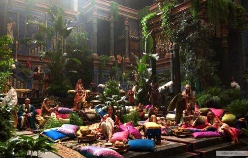 Los Jardines Colgantes de Babilonia en Alejandro Magno(2004) de Oliver Stone