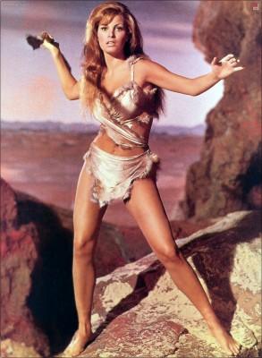 Raquel Welchen la película Hace un millón de años