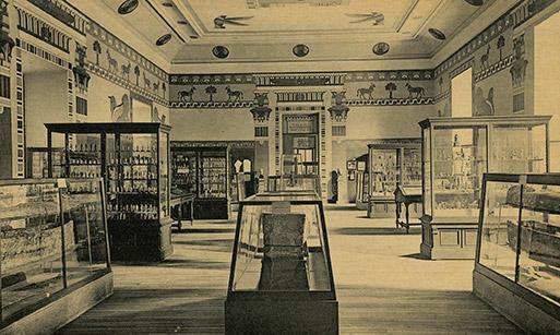 Imagen antigua del Museo Arqueológico Nacional de Madrid