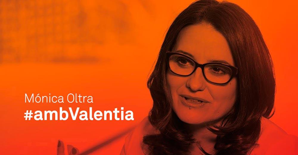 Monica Oltra amb Valentia Compromís