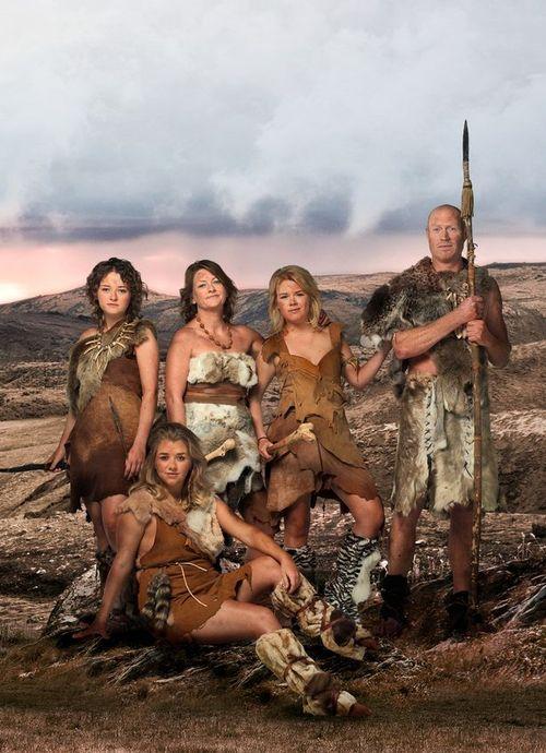 Programa televisión británica 10.000 BC reality supervivencia mesolítico