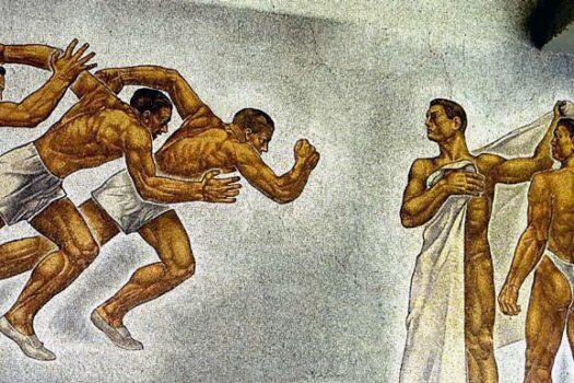Mussolini y el fitness imperial