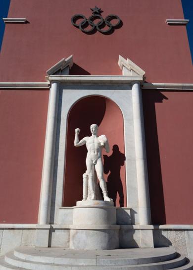 Foro itálico mussolini fascismo arquitectura antigua roma