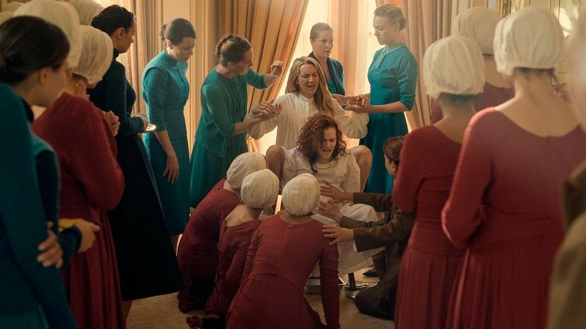 Cuento de la Criada Handmaid's tale parto Gilead criada esposa